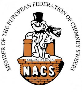 NACS Member logo chimney sweep in hampshire and london wimbledon