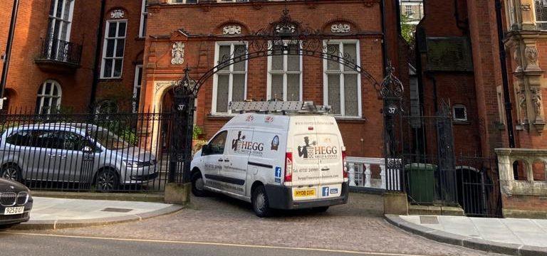 chimney sweep van in London and wimbledon